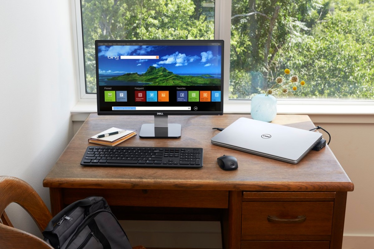 Home Office With Inspiron 15 Touch Notebook Cristian Nicolau