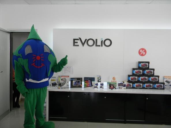 Mascota EcoAtitudine la Evolio