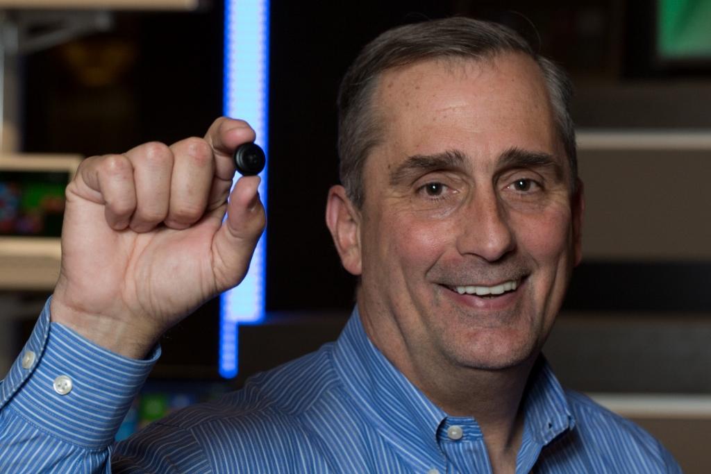 Brian Krzanich prezinta Intel Curie