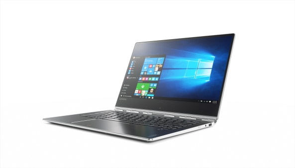 Yoga 910 convertible in silver