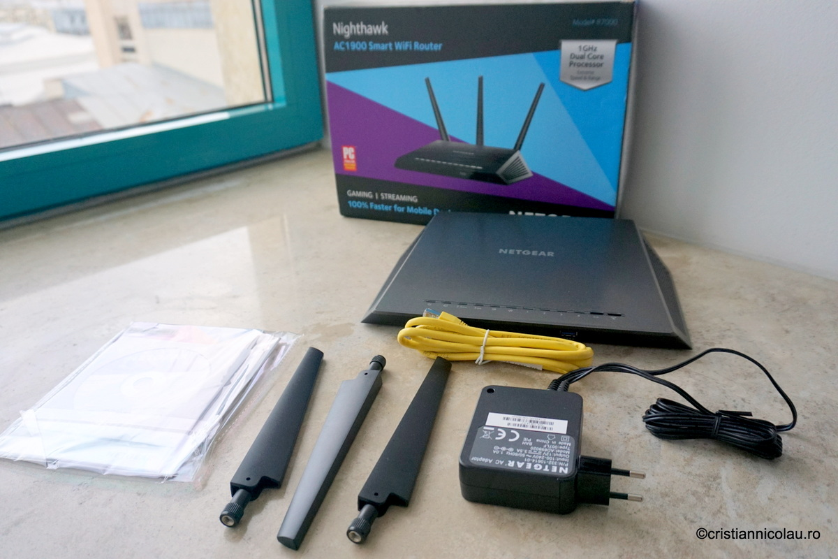 nighthawk ac1900 smart wifi router manual